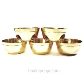 brass pooja bowls