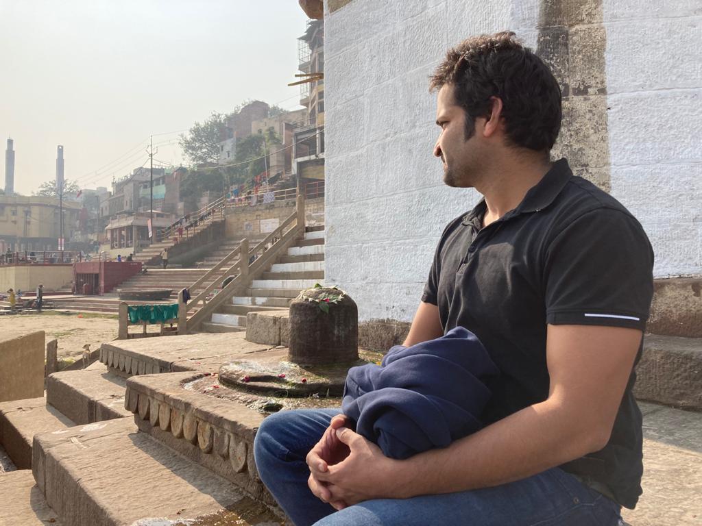 kedar ghat in kashi