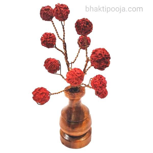 rudraksha decoration tree
