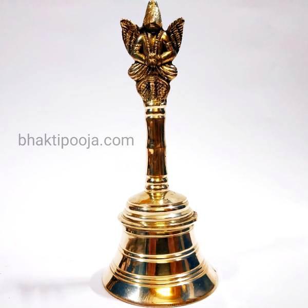 garud ghanti in brass