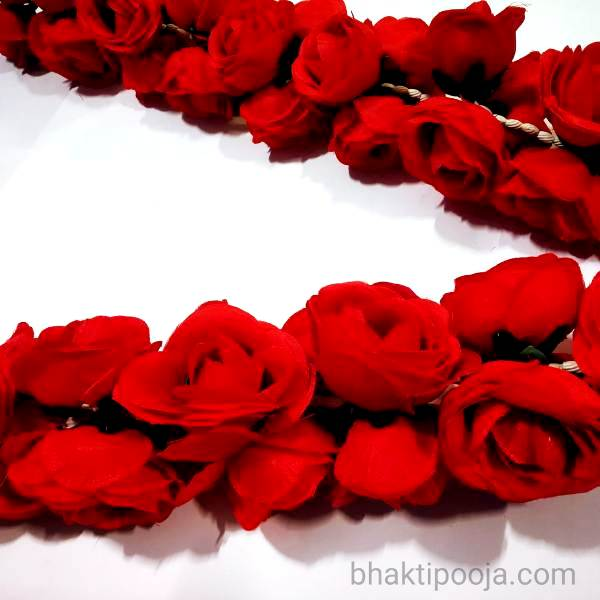 long Red Rose mala