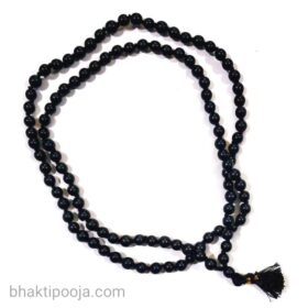 kala hakik mala black agate rosary