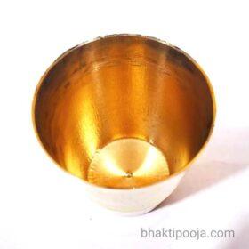 pital brass glass for pooja