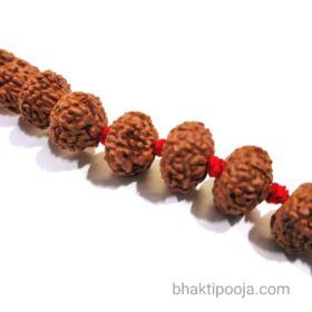 stone rudraksha beads mala