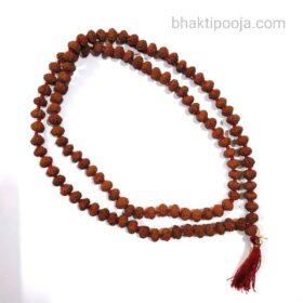 chapte dane me stone rudraksha beads mala