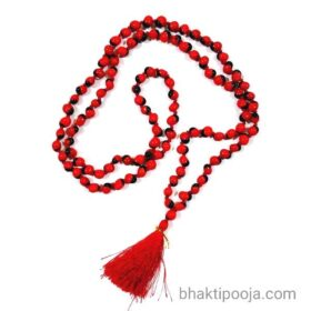 Gunja Coral bead mala for Krishan