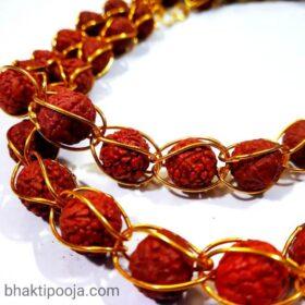 rudraksha mala without hole in beads